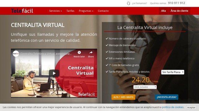 telefacil centralita virtual