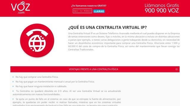 voz centralita virtual